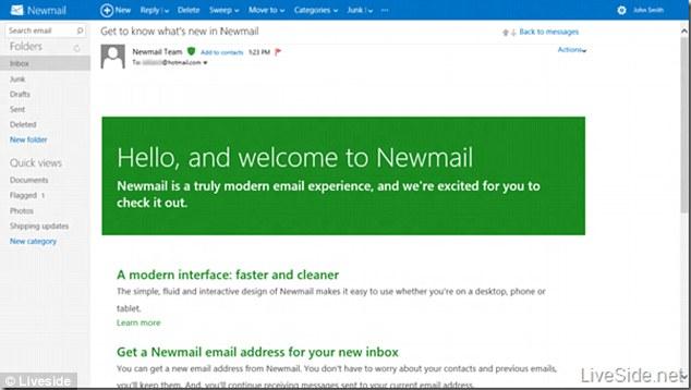 Microsoft renames, revamps Hotmail