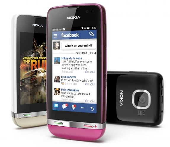 Nokia Launches New Asha Touch Device Range