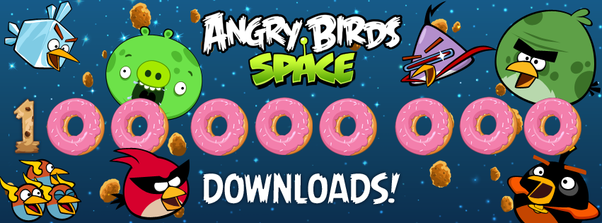 Angry Birds Space crosses 100 million downloads in 76 days