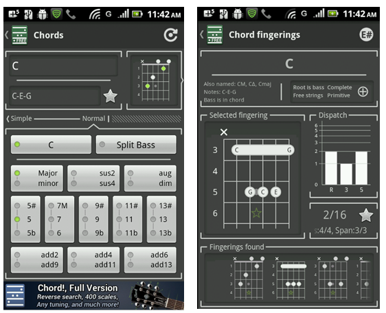 chords android app