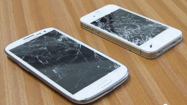 [Video] Drop Test: Samsung Galaxy S III Vs iPhone 4S, Who will live to tell the story?