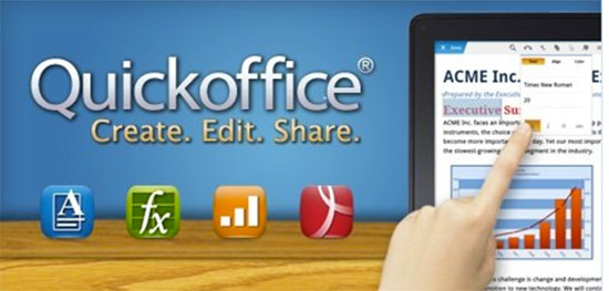Google buys mobile document maker Quickoffice, new challenge for Microsoft?