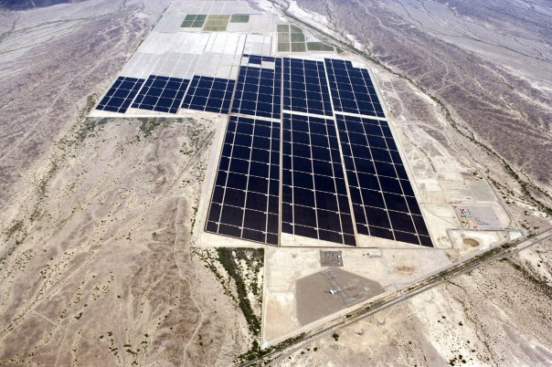 Huge Arizona Solar Panel Farm Now 2/3 Completed