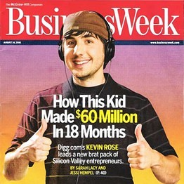 Kevin Rose: Digg Failed Because 'Social Media Grew Up'