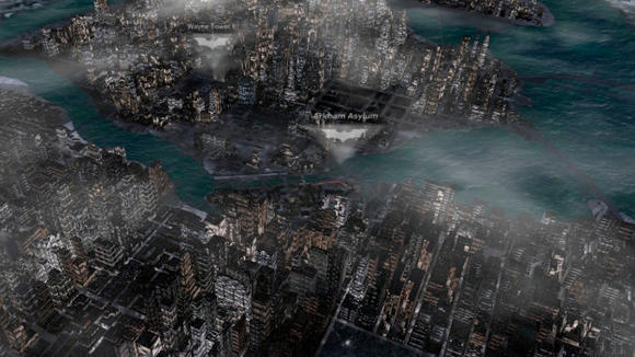 Nokia Teases Interactive Gotham City 3D Map for The Dark Knight Rises