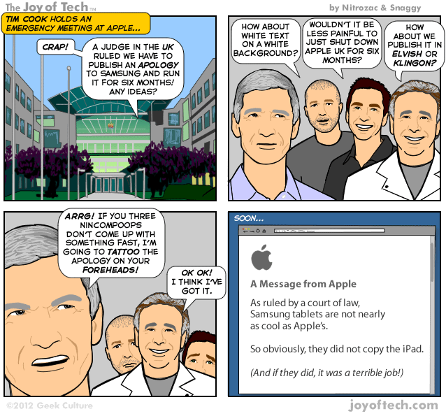 Apple Apology