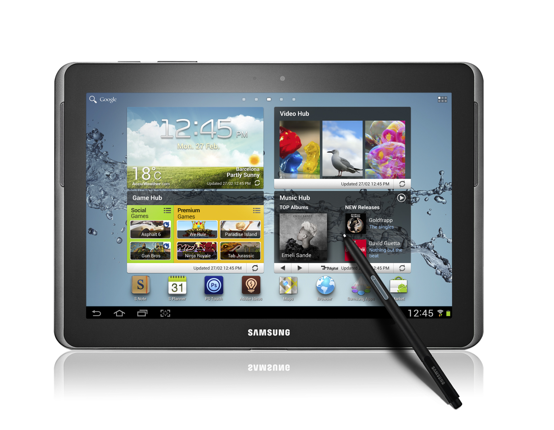 Samsung Galaxy Note 10.1 Launching This Month