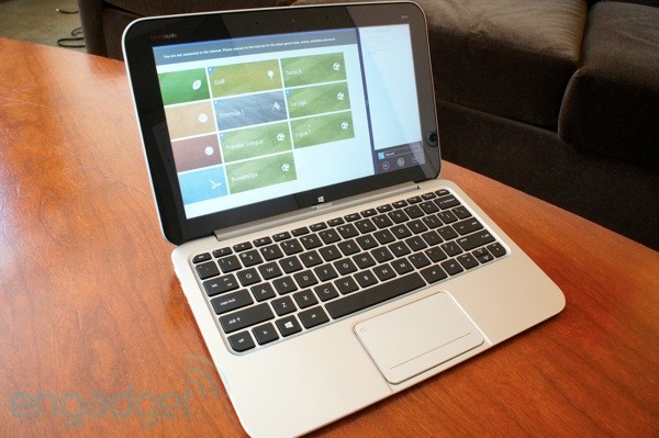 HP Envy X2 tablet hybrid