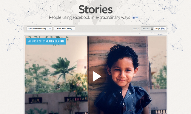 New 'Facebook Stories' Reveals Human Drama Within