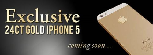 Exclusive 24ct Gold Apple iPhone 5