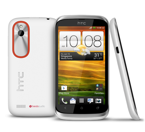 HTC Desire V Dual SIM Is In with HTC Desire V