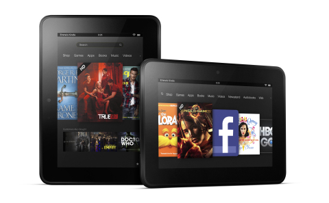 Amazon Takes on the High-End—Introducing the New Kindle Fire HD Family