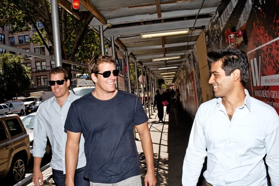 Winklevoss Twins Might Have Lost Facebook But They Own 1% of All Bitcoins