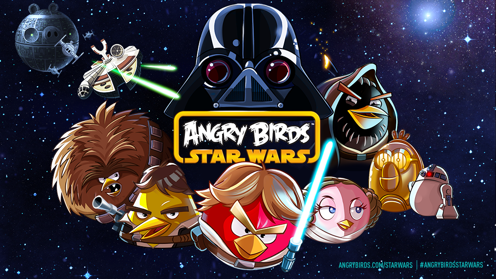 """Rovio Hopes to Use The Force as It Pairs Angry Birds and """"Star Wars"""""""