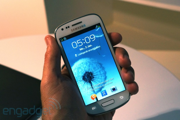 Galaxy S3 mini Samsung Galaxy S III Mini Pops Up, Hands on Video
