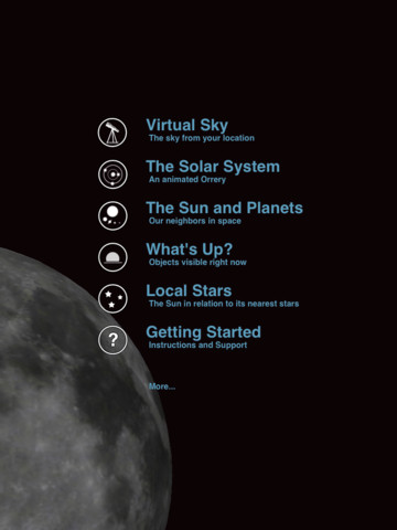 Pocket Universe iPad App