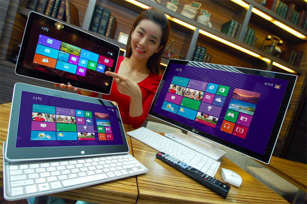 LG Announces Windows 8 12-inch Slider Laptop Hybrid and All-in-One PC