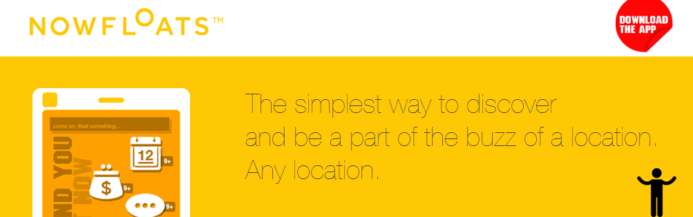 NowFloats - Search, Explore and Discover What's Happening Around You