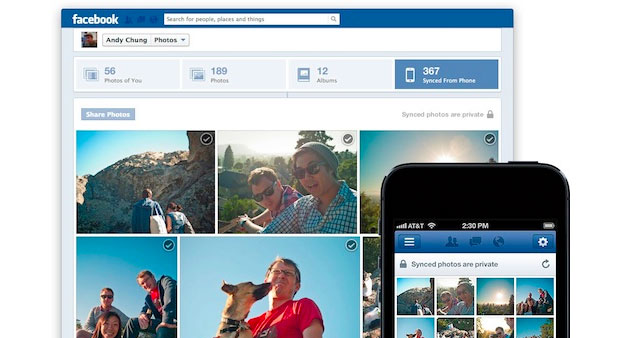Facebook Trials Photo Auto-Upload Feature on iOS