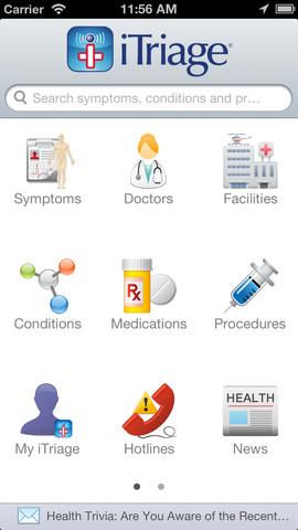 iTriage - A Medical Aid App
