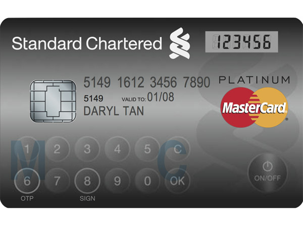 MasterCard Rolls Out Credit Card With Display and Keypad