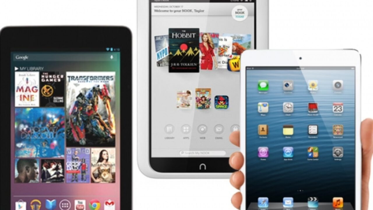 Black Friday Deals 2012 Nexus 7 Ipad Mini Or Amazon Kindle Fire Hd 8 9 What Will You Buy