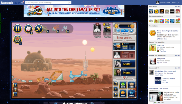 Rovio Launches Angry Birds Star Wars On Facebook