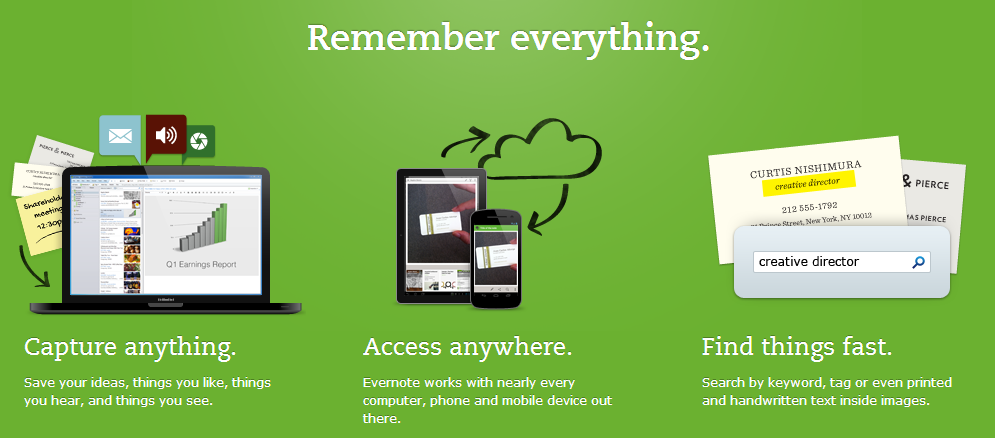 Evernote 5 Apps That Startups Need To Use This New Year