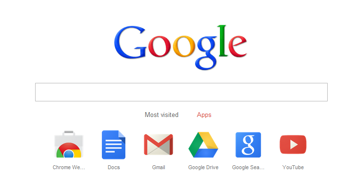 The google homepage is now built into chrome - Google home page design ...