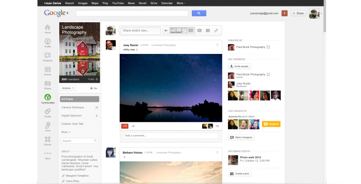 Meet Google+ Communities: Google's Answer to Facebook Groups Aimed at Helping You Meet New People