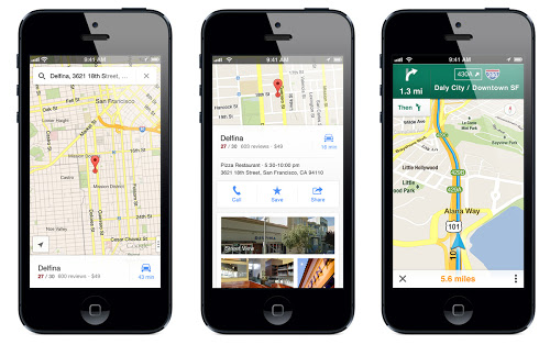Google Maps iPhone App Steers in the Right Direction
