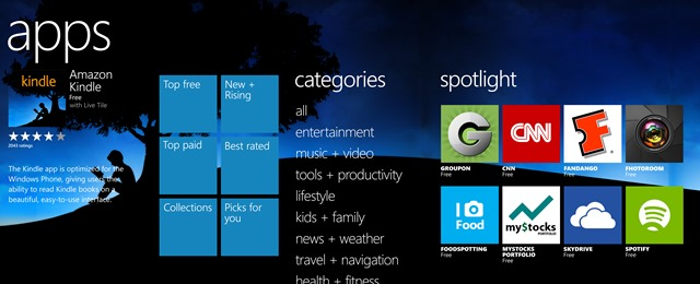 75,000 Windows Phone Apps Published in 2012, 54 Apps Downloaded Per Phone
