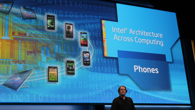 CES Intel Phones