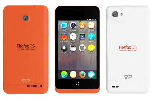 Firefox OS Developer Preview Phone is Here