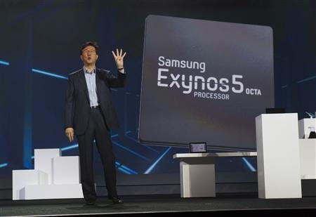 Samsung Shows-Off 8-core Exynos 5 Octa Mobile Processor, Amazingly Fast