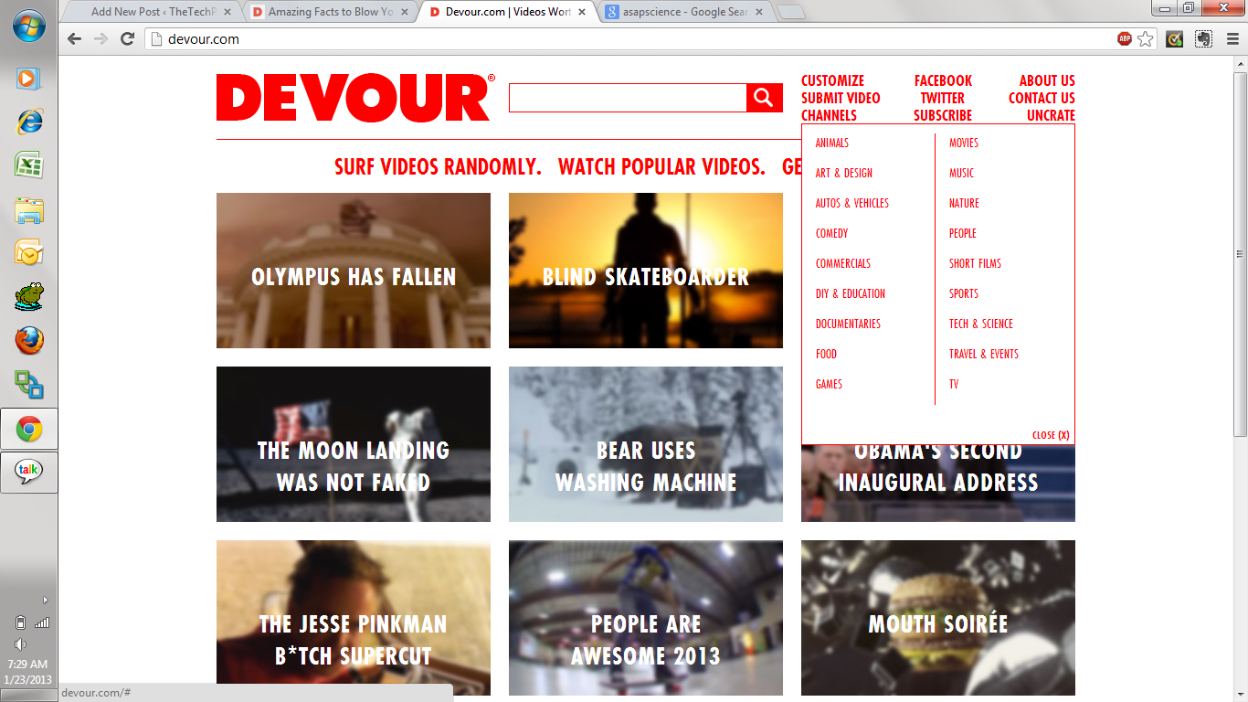 Devour - Best Youtube Videos Handpicked For You