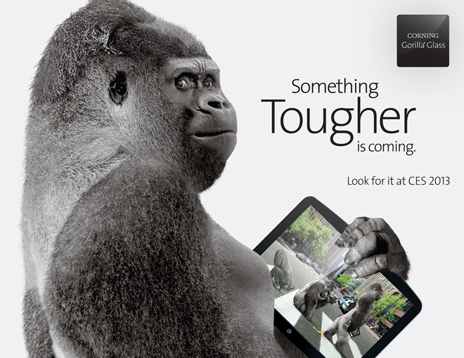 Corning Announces Gorilla Glass 3, To Be Three Times More Scratch Resistant