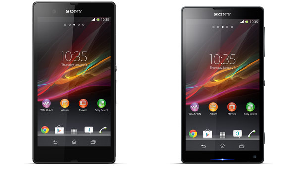 Sony Xperia Z and ZL Official Pictures Released
