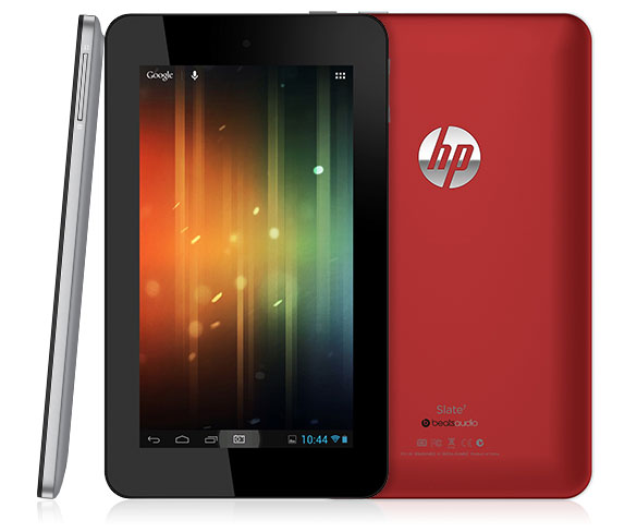 HP Announces Slate 7, Its First Android Tablet Priced at $169.99