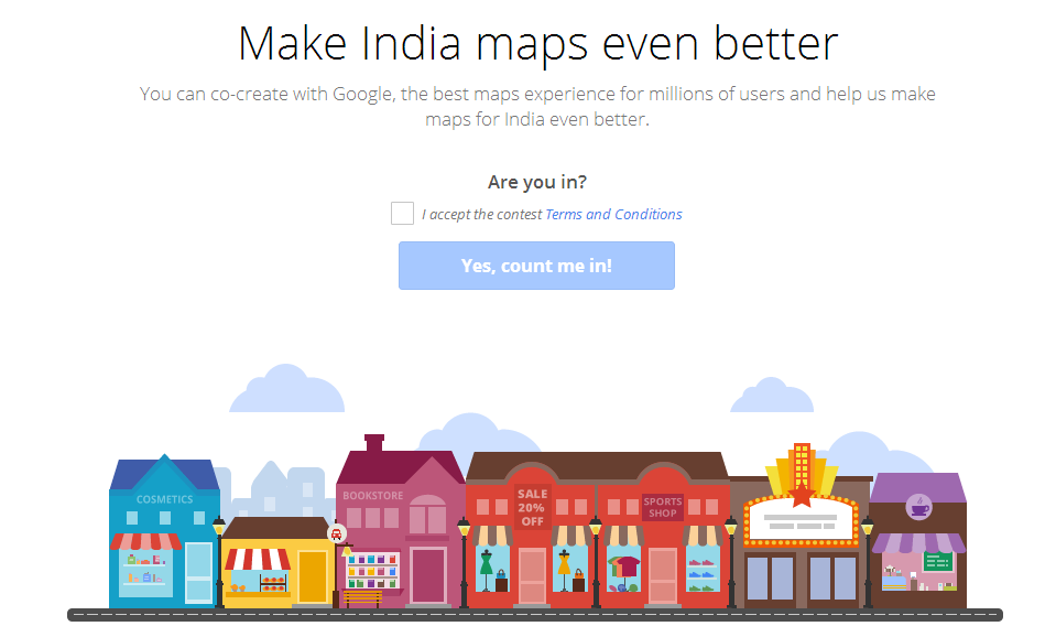 Mapathon 2013: First Ever Google Mapping Competition in India