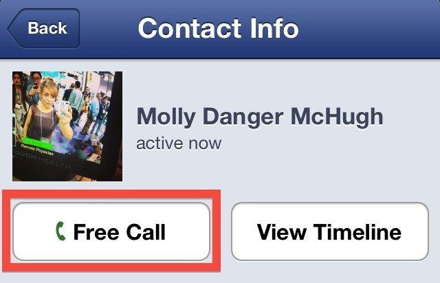 Facebook Free Calling