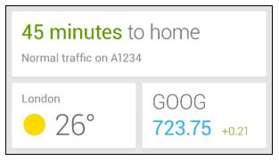 Google Now Widget