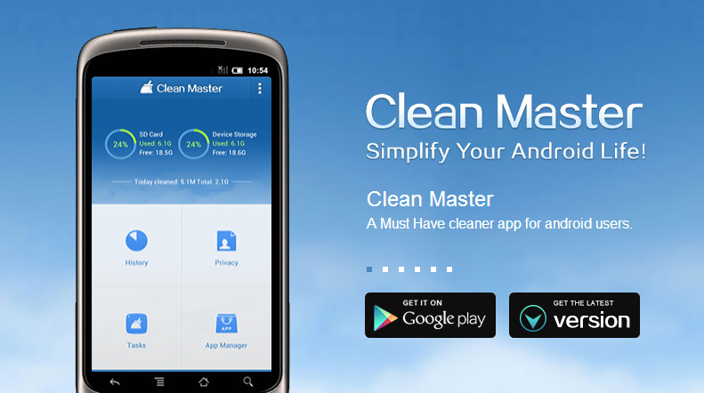 Clean Master - An App To Sweep Away The Unnecessary