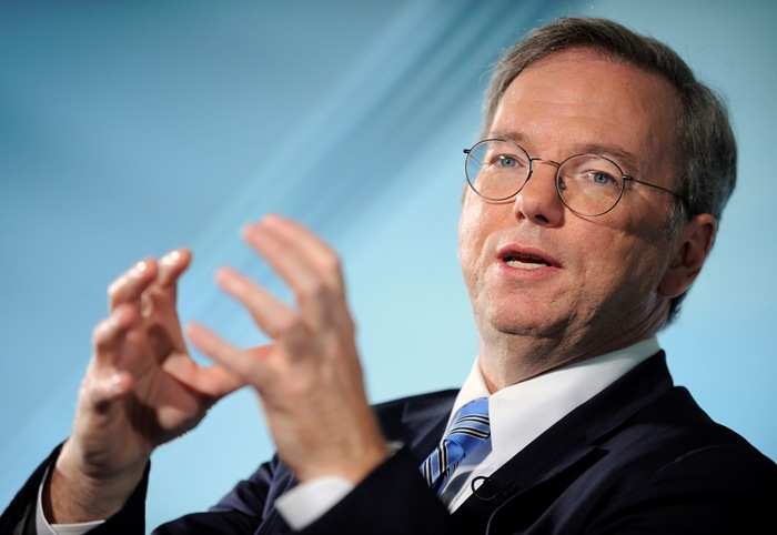 Eric Schmidt Talks at Dive Into Mobile