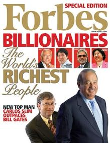 Forbes List of Tech Billionaires, Top Companies