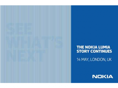 Nokia Plans London Event on May 14 to Talk About Its Next Windows Phones
