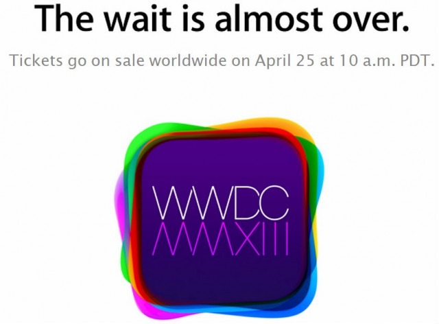 WWDC Kicks Off on June 10, Tickets Live on April 25