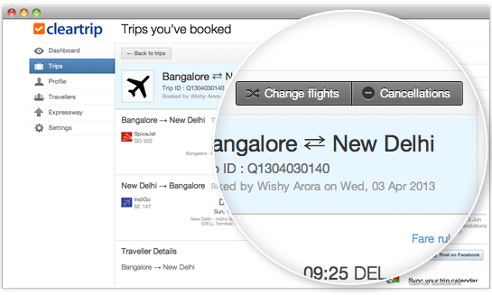 Now Reschedule Your Flights Online with Cleartrip