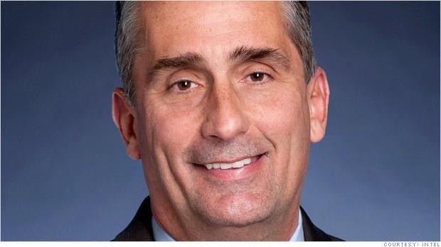 Intel Board Elects Brian Krzanich as New CEO