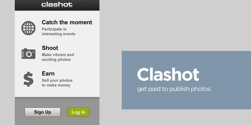 Clashot iPhone App Review: Get Paid to Take Photos